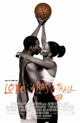 Framed Love and Basketball Omar Epps Print