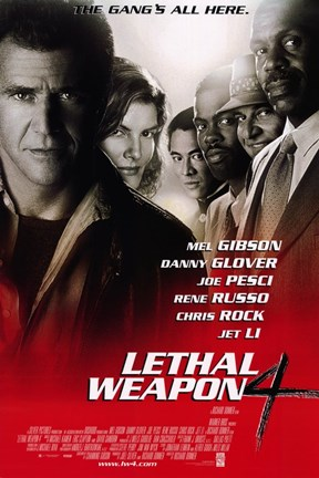 Framed Lethal Weapon 4 Print