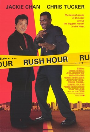 Framed Rush Hour Print