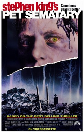 Framed Pet Sematary Print