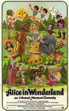 Framed Alice in Wonderland (adult film) Print