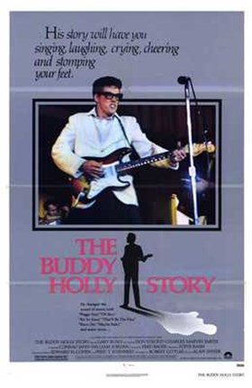 Framed Buddy Holly Story Print