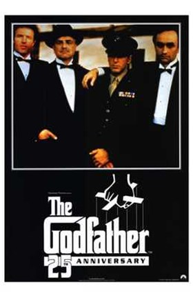 Framed Godfather Gang Print