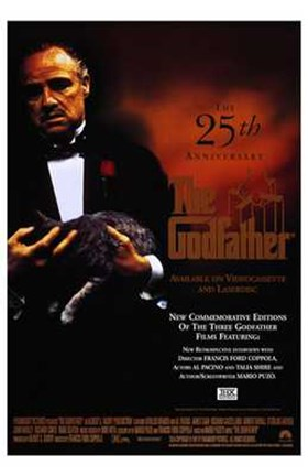 Framed Godfather 25 Anniversary Print