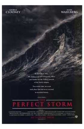 Framed Perfect Storm Print