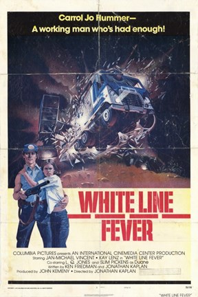 Framed White Line Fever The Film Print