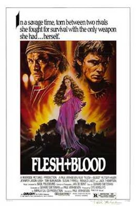 Framed Flesh and Blood Print