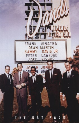 Rat Pack Fine Art Print By Unknown At Fulcrumgallerycom