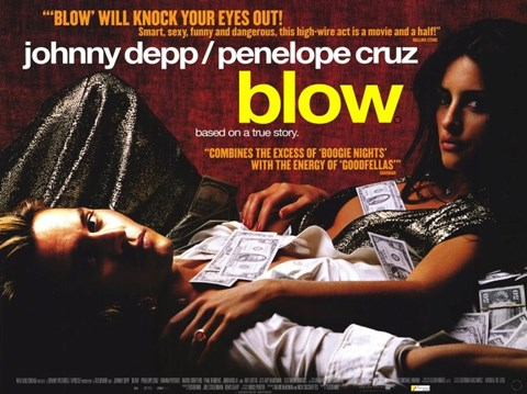 Framed Blow Movie Print