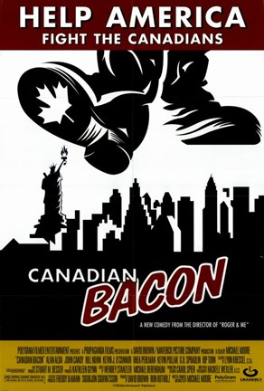 Framed Canadian Bacon Shoe Print