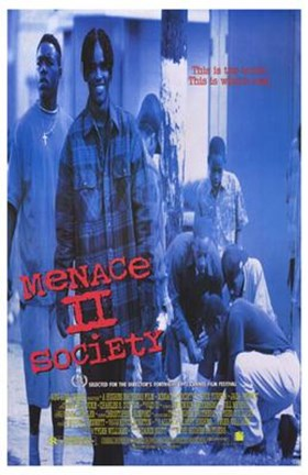Framed Menace II Society Print
