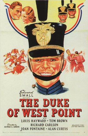 Framed Duke of West Point Print