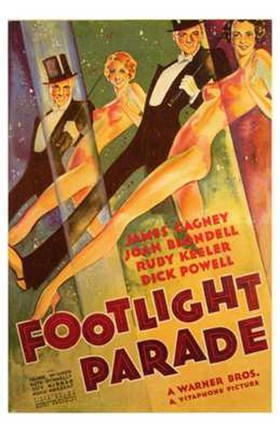 Framed Footlight Parade Print