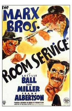 Framed Room Service The Movie Print