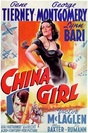 Framed China Girl Print