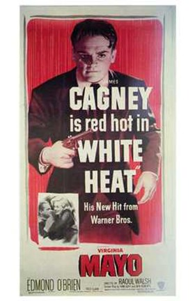 Framed White Heat James Cagney Print