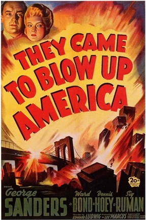 Framed They Came to Blow Up America Print