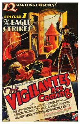 Framed Vigilantes Are Coming Episode 1 Print