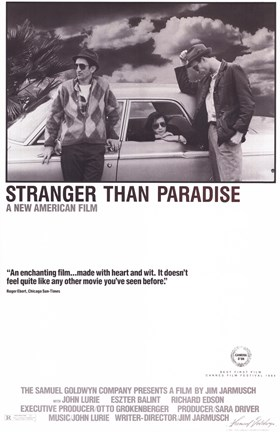 Framed Stranger Than Paradise Film Print
