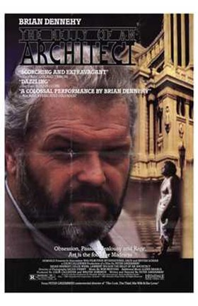 Framed Belly of an Architect Brian Dennehy Print