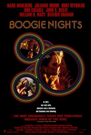 Framed Boogie Nights - Scenes Print