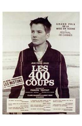 Framed 400 Blows - French Print