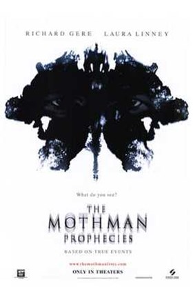 Framed Mothman Prophecies Print