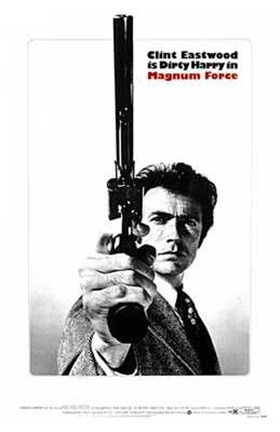 Framed Magnum Force - Dirty Harry Print