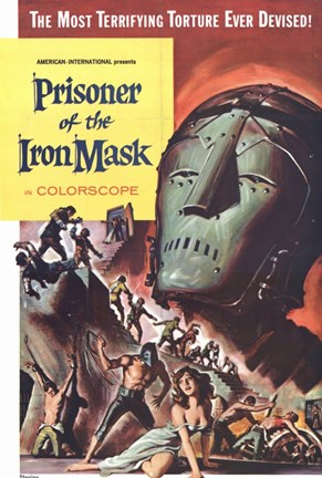 Framed Prisoner of the Iron Mask Print