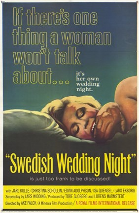 Framed Swedish Wedding Night Print