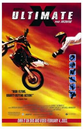 Framed Ultimate X: the Movie Print