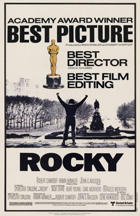 Framed Rocky Best Picture Print