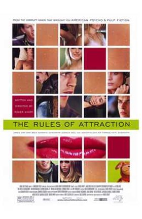 Framed Rules of Attraction Print