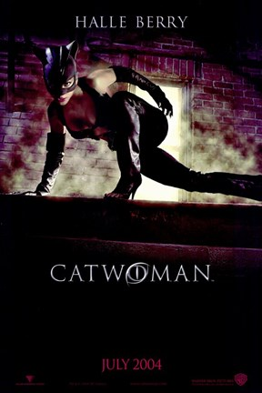 Framed Catwoman The Movie Print