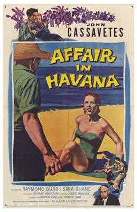 Framed Affair in Havana Print