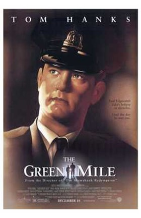 Framed Green Mile Tom Hanks Print