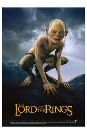 Lord Of The Rings Return Of The King Gollum Fine Art