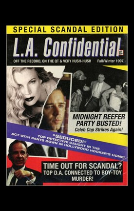 Framed La Confidential - Special Scandal Edition Print