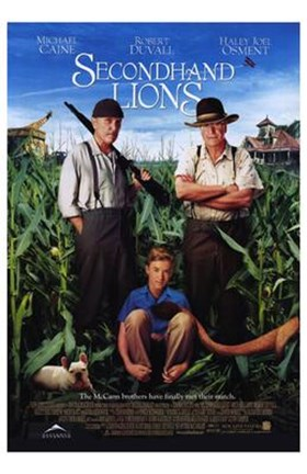 Framed Secondhand Lions Print