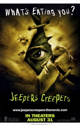 Framed Jeepers Creepers Print