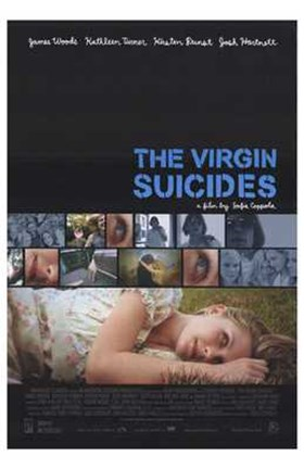 Framed Virgin Suicides (movie poster) Print