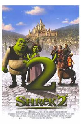 Shrek 2 Castle Wall Poster By Unknown At Fulcrumgallery Com