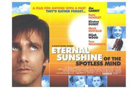 Framed Eternal Sunshine of the Spotless Mind Print
