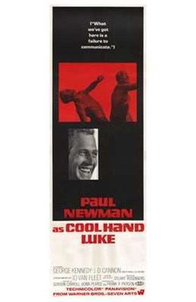 Framed Cool Hand Luke Tall Print