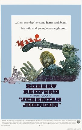 Framed Jeremiah Johnson - man with a gun Print
