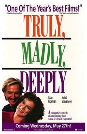 Framed Truly Madly Deeply Print