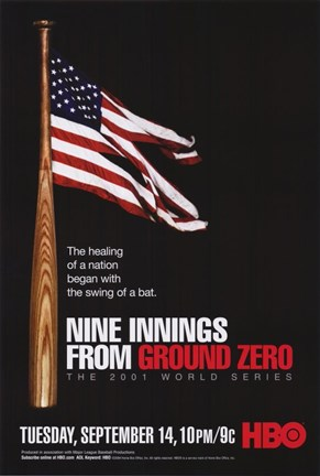 Framed Nine Innings from Ground Zero Print