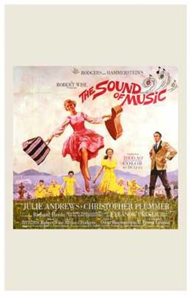 Framed Sound of Music Square Print