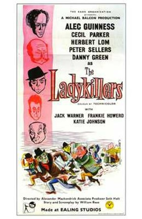 Framed Ladykillers - tall Print
