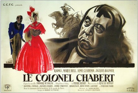 Framed Colonel Chabert Print